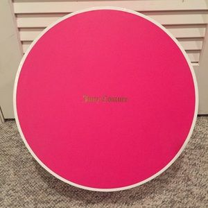 Juicy Couture Hat Box